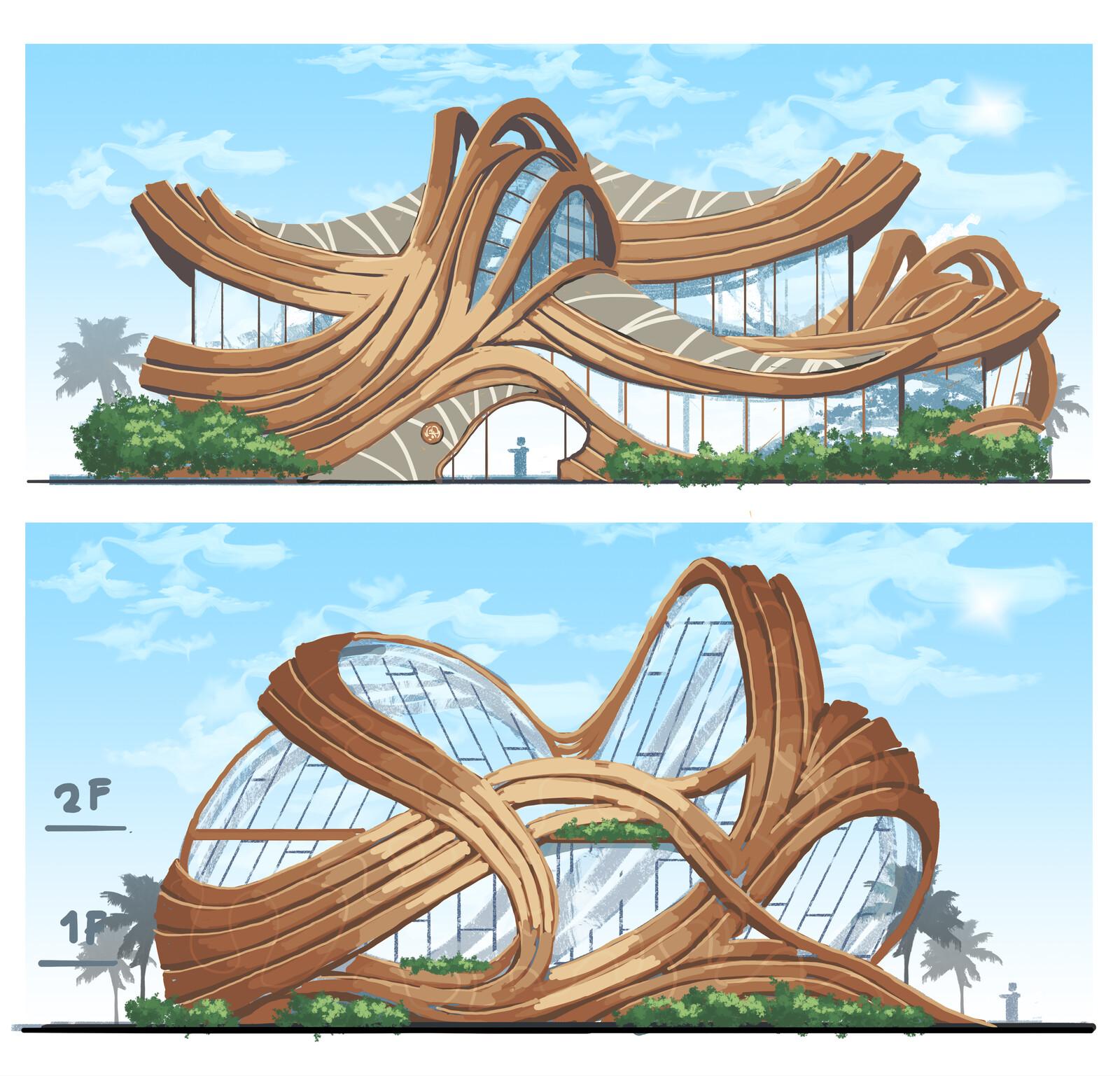 Organic Building Design