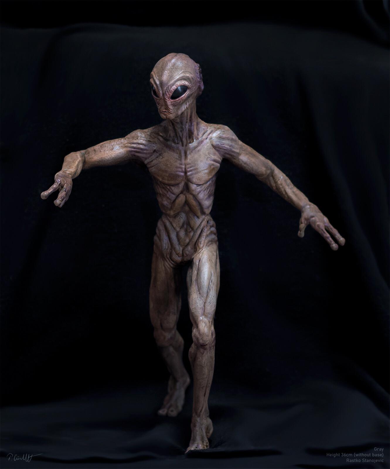"""3d printed model """"Alien"""", color variation V.1(without a base)"""