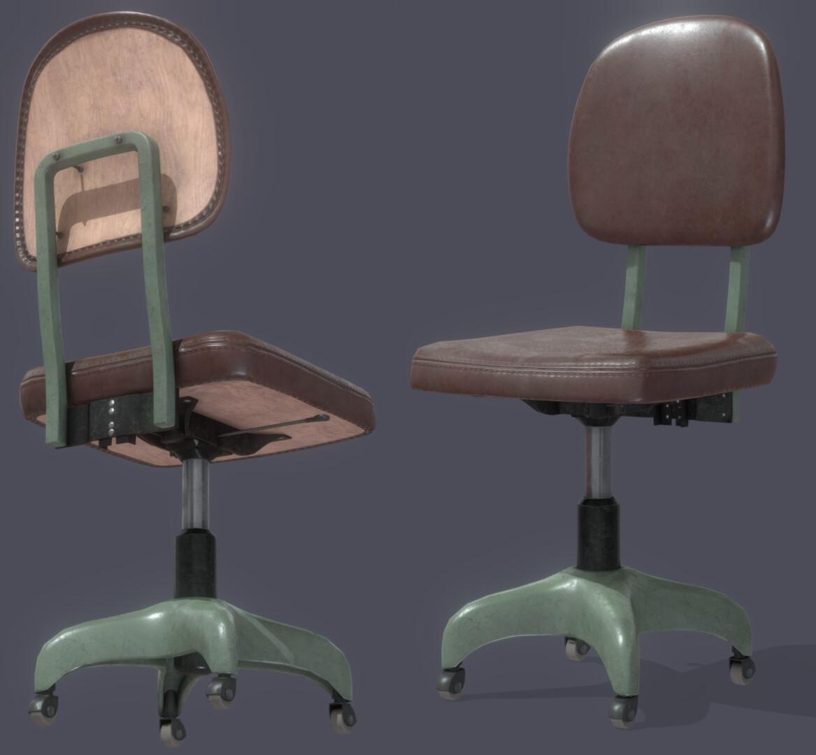 Jyri Saloranta Vintage Office Chair