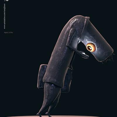 Surajit sen addiction digital sculpture surajitsen oct2019