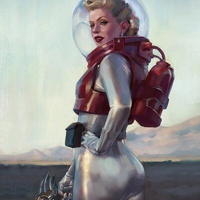 Eva kosmos eva kosmos study practice in procreate