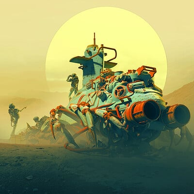 Pascal blanche crawler low