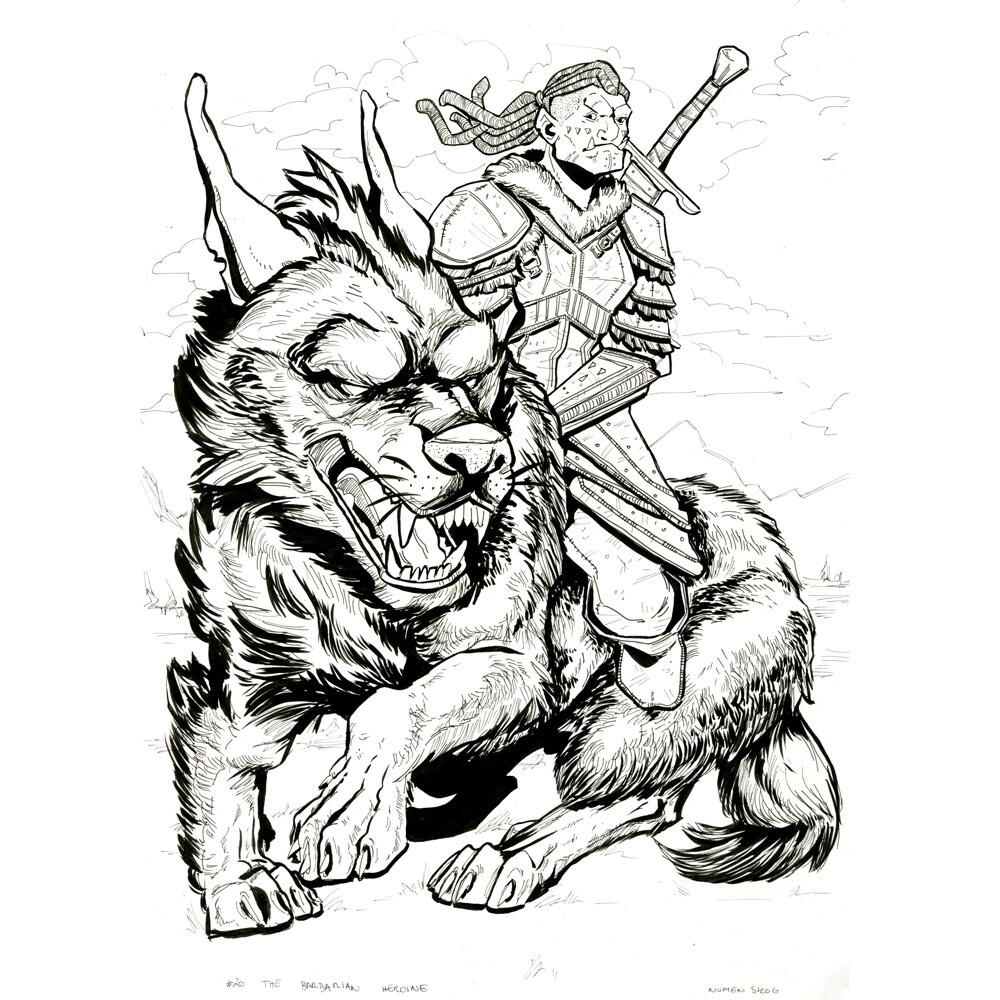 Day 20: The Barbarian Heroine