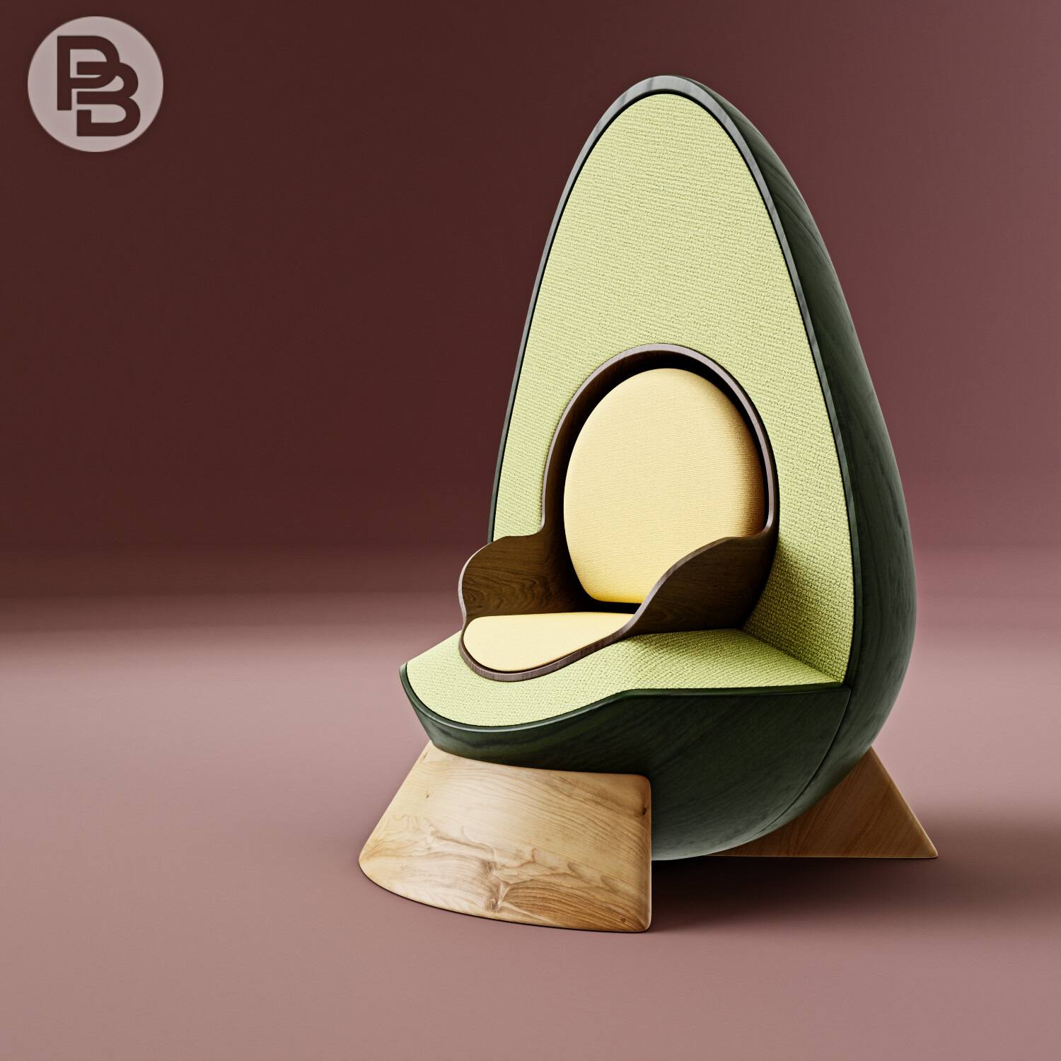 Avocado Armchair