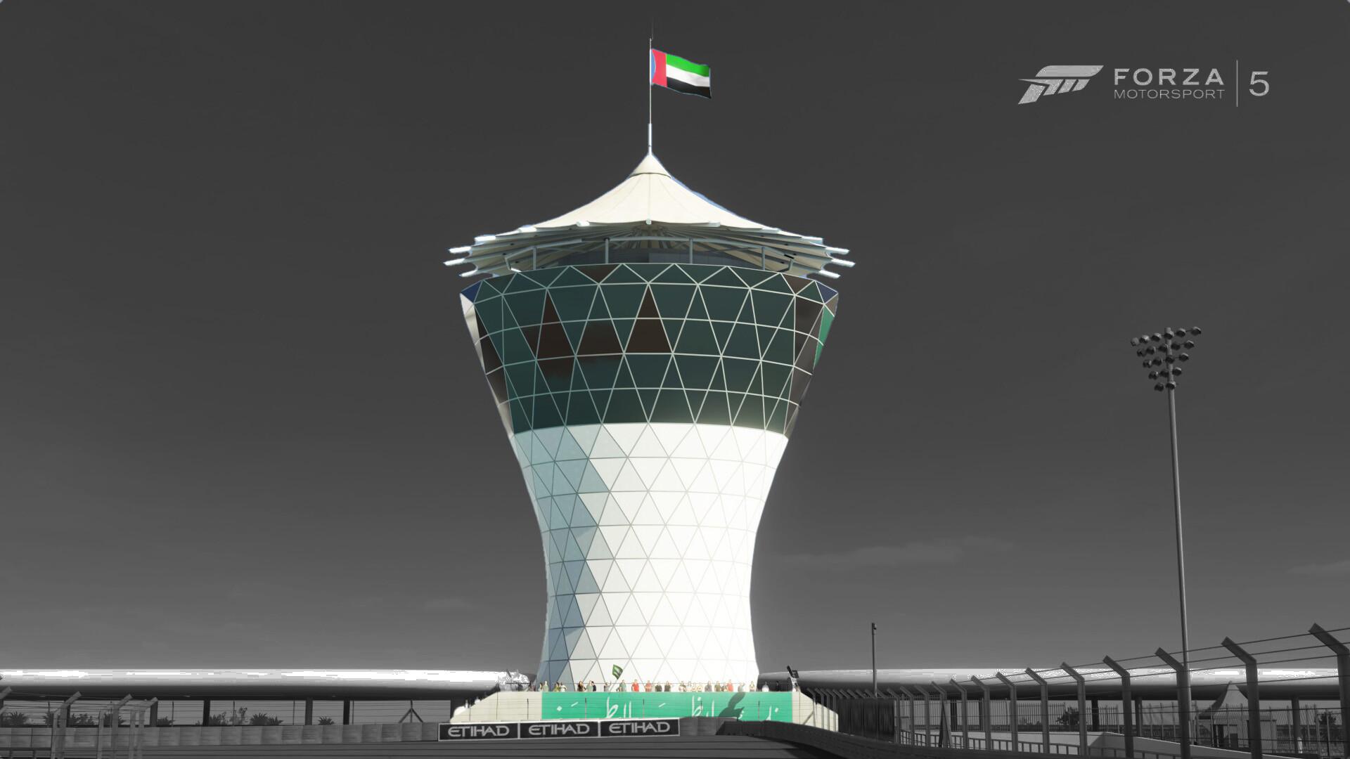 Forza 5 (2013) - Yas Marina, Royal Viewing Tower