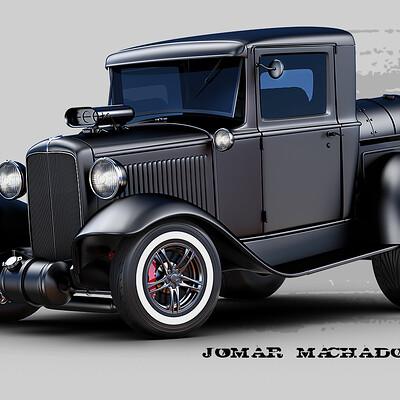 Jomar machado 216 pick up ford hot rod