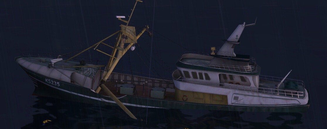FSX: Acceleration (2007) - Baltic Beamtrawler SAR Mission