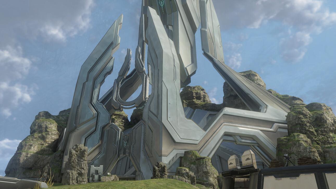 Ravine ---- Forerunner structures