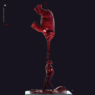 Surajit sen its life digital sculpture surajitsen oct2019