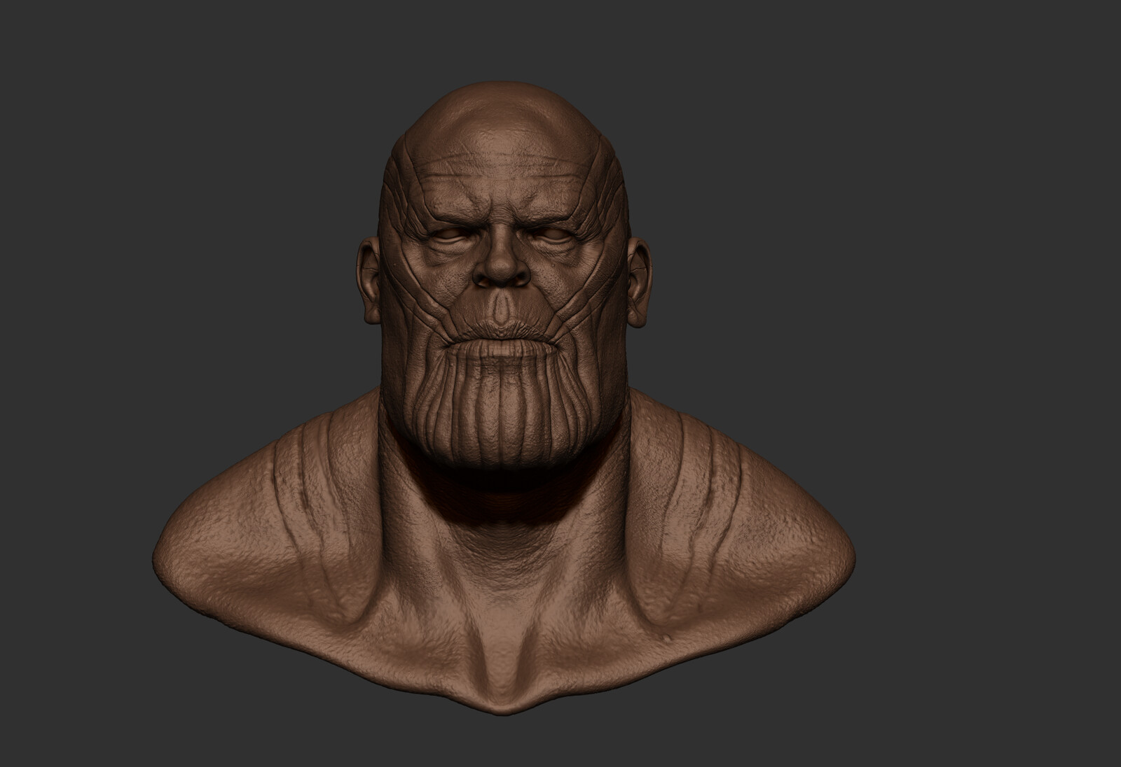 clay render high res