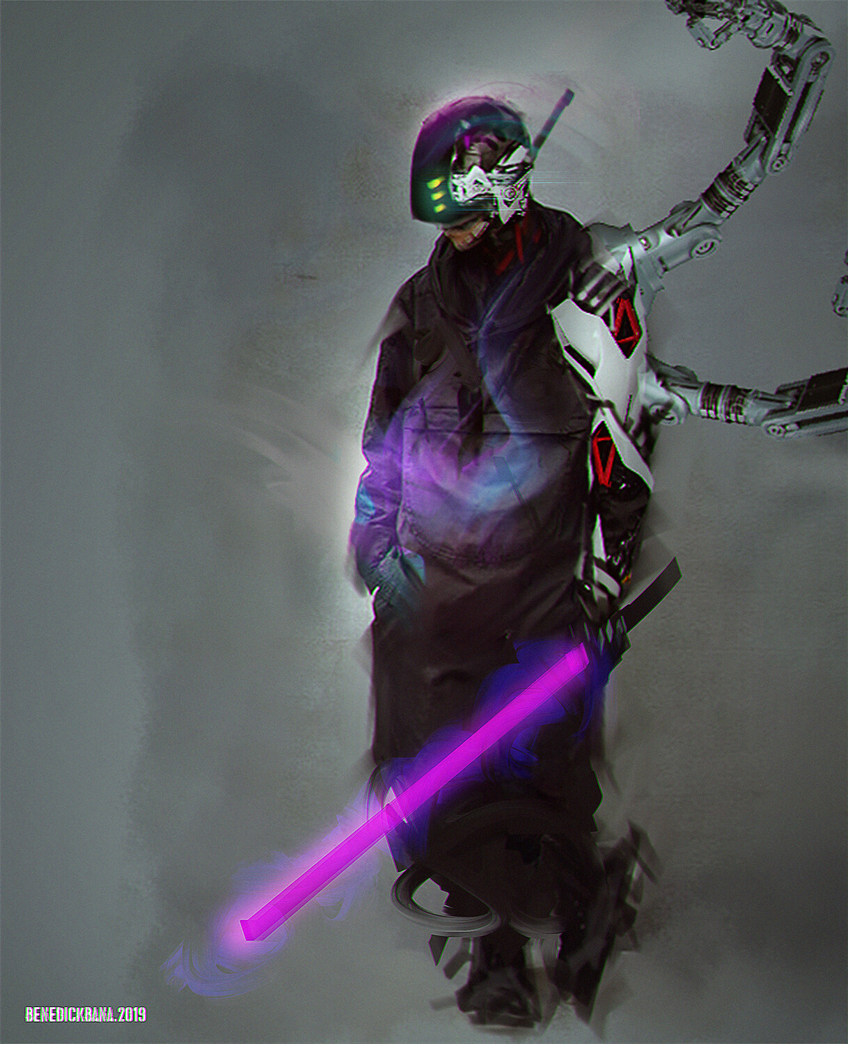Photobash Digitalpainting CyberNeoNinja