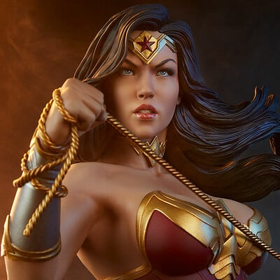 Vimal kerketta 01 400349 wonder woman bust