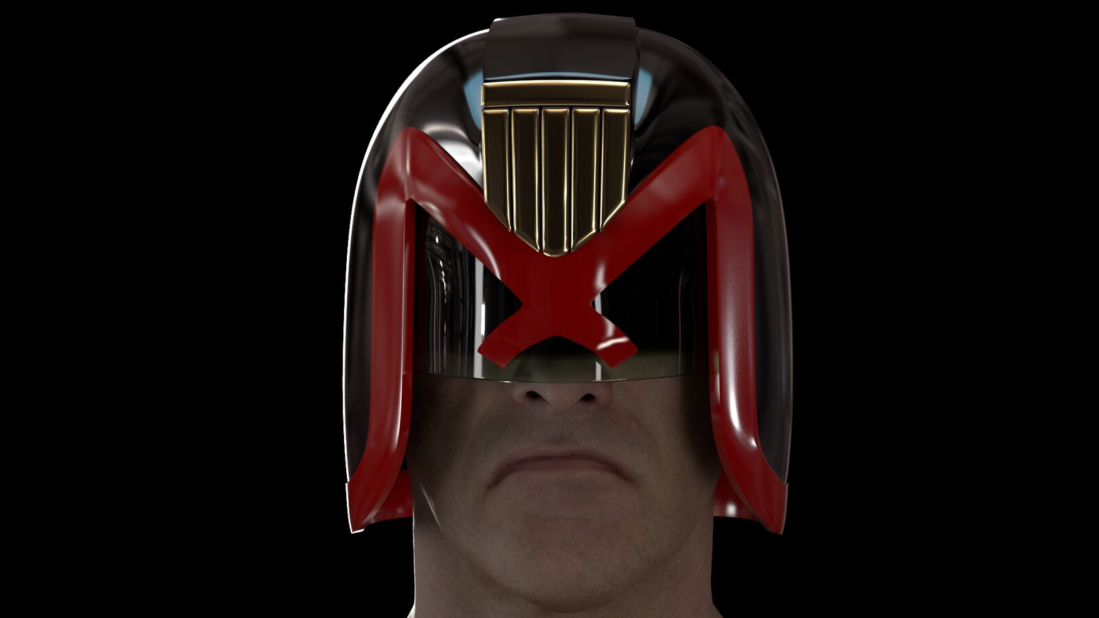SJS Helmet (Brian Bolland Version)