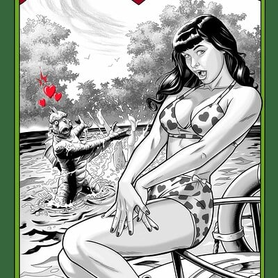 Jerome moore bettie page cover jkm