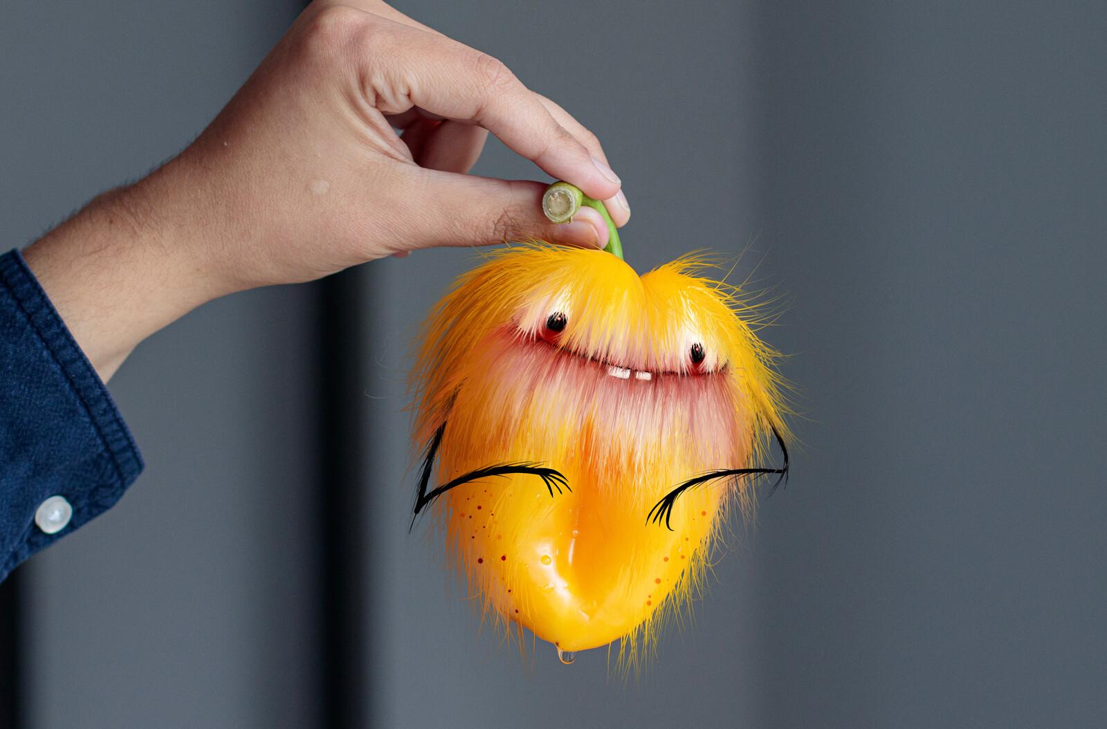 Fluffy Pepper Creature