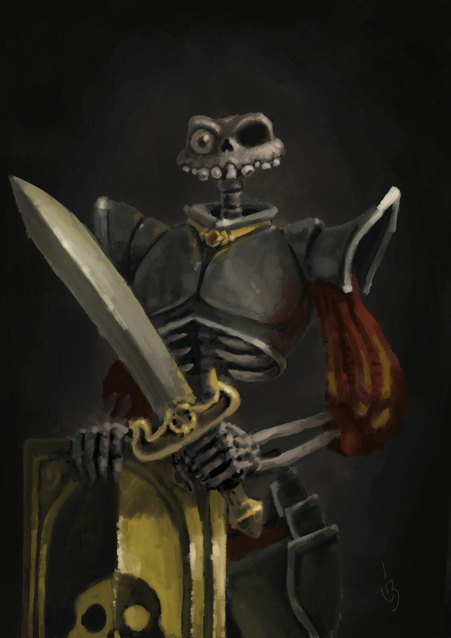 Sir Daniel Forqueste (MediEvil Fanart)