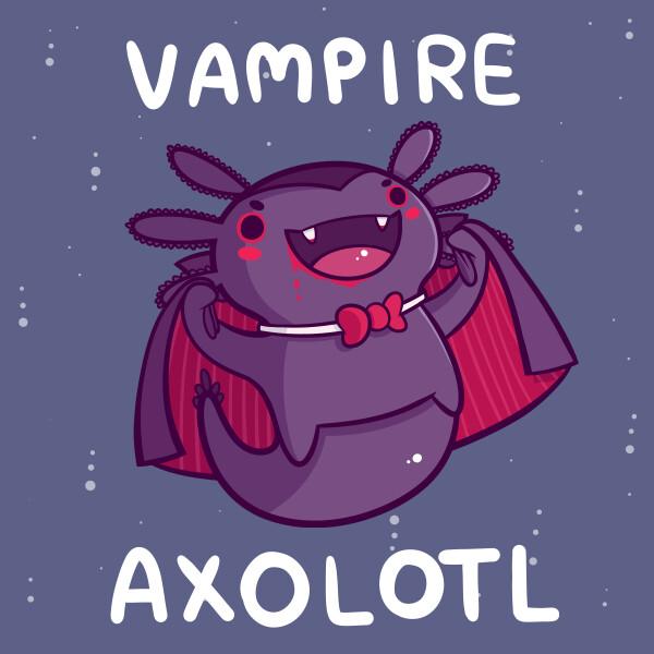 Danielle jones vampire axolotl small
