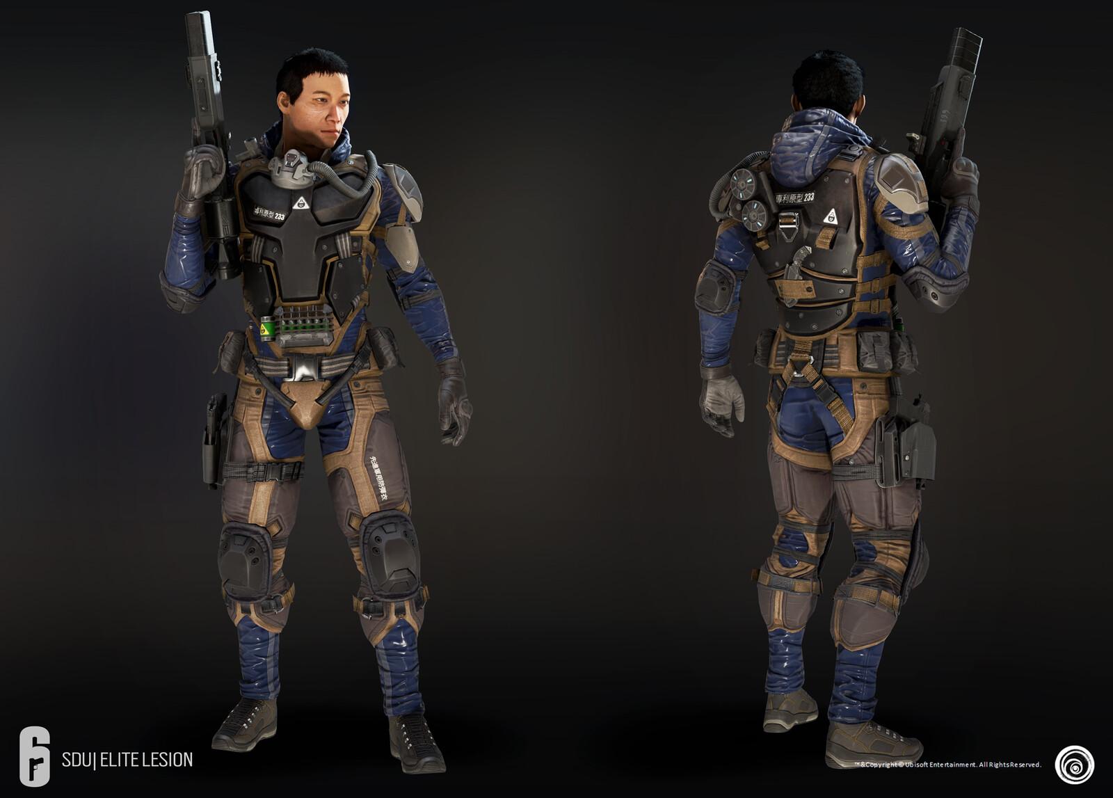 In-game Model