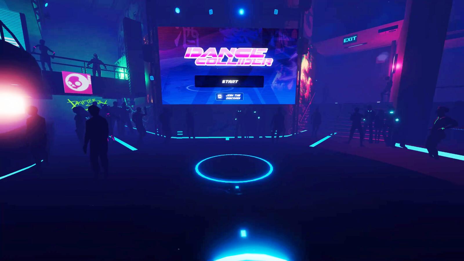 Dance Collider lobby
