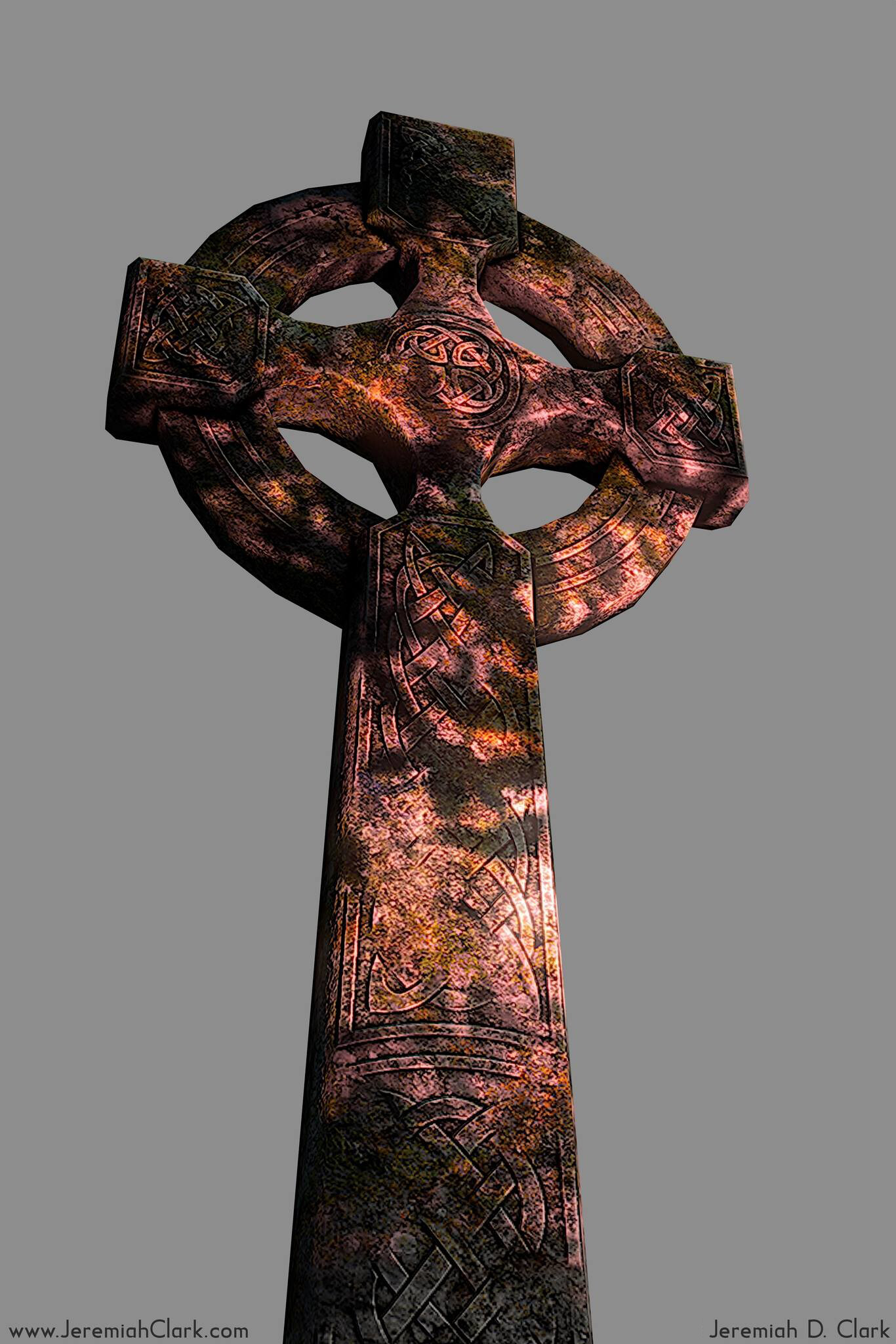 Jeremiah clark celticcross2