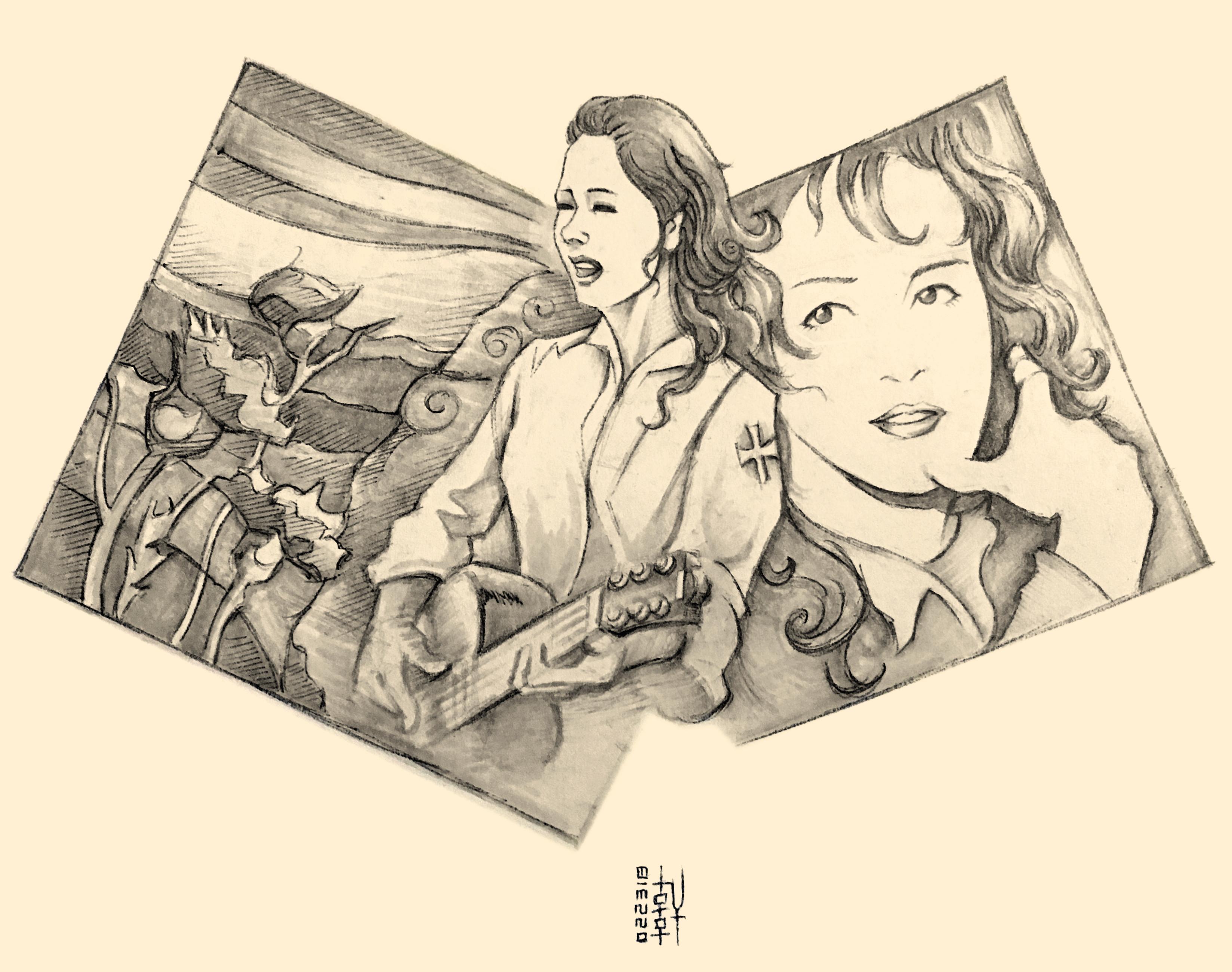Nakajima Miyuki - Sketch