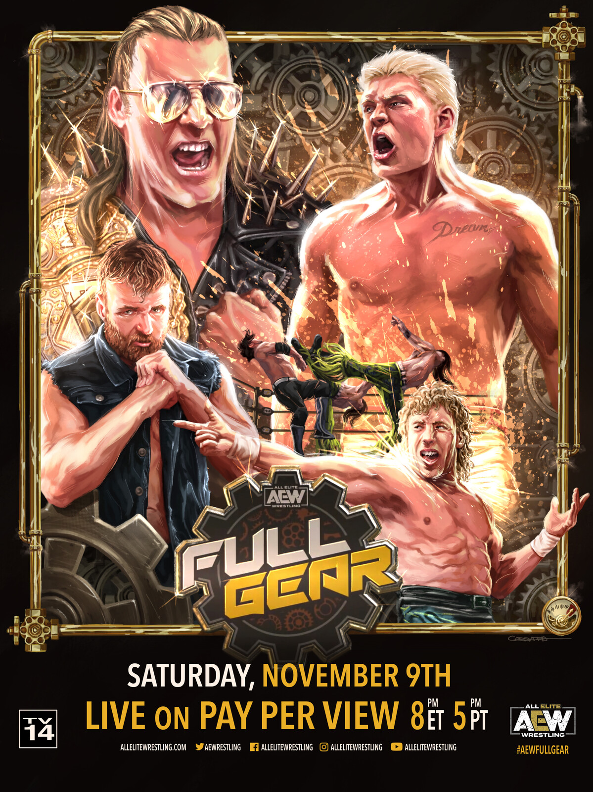 AEW Full Gear PPV poster