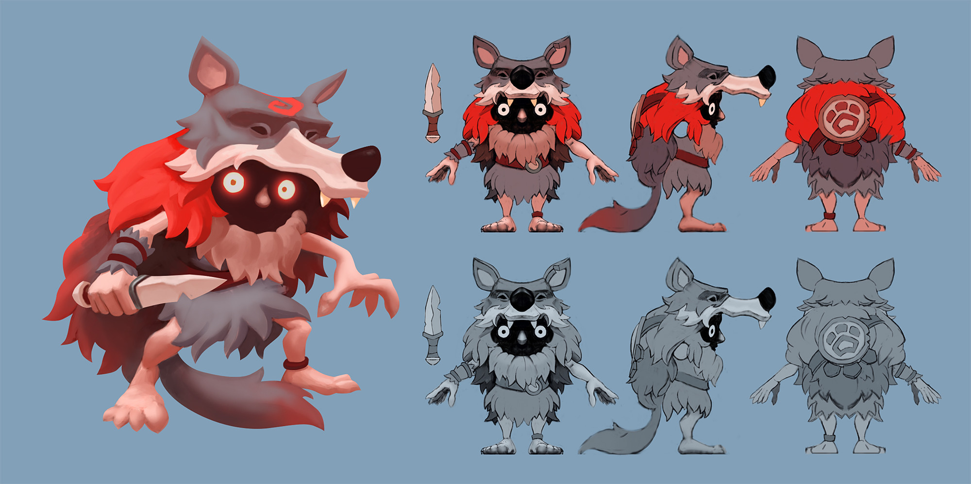 Based on this concept art, courtesy of Snowprint Studios.