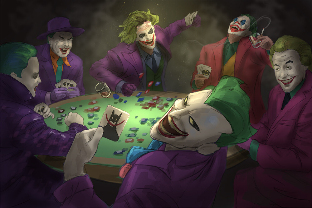 Artstation Joker Poker Andy Timm