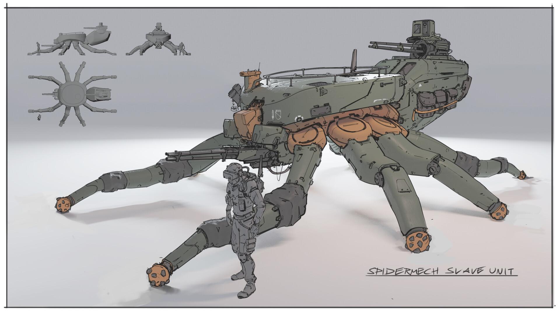 Spidertank
