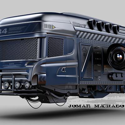 Jomar machado 222 hover scania truck