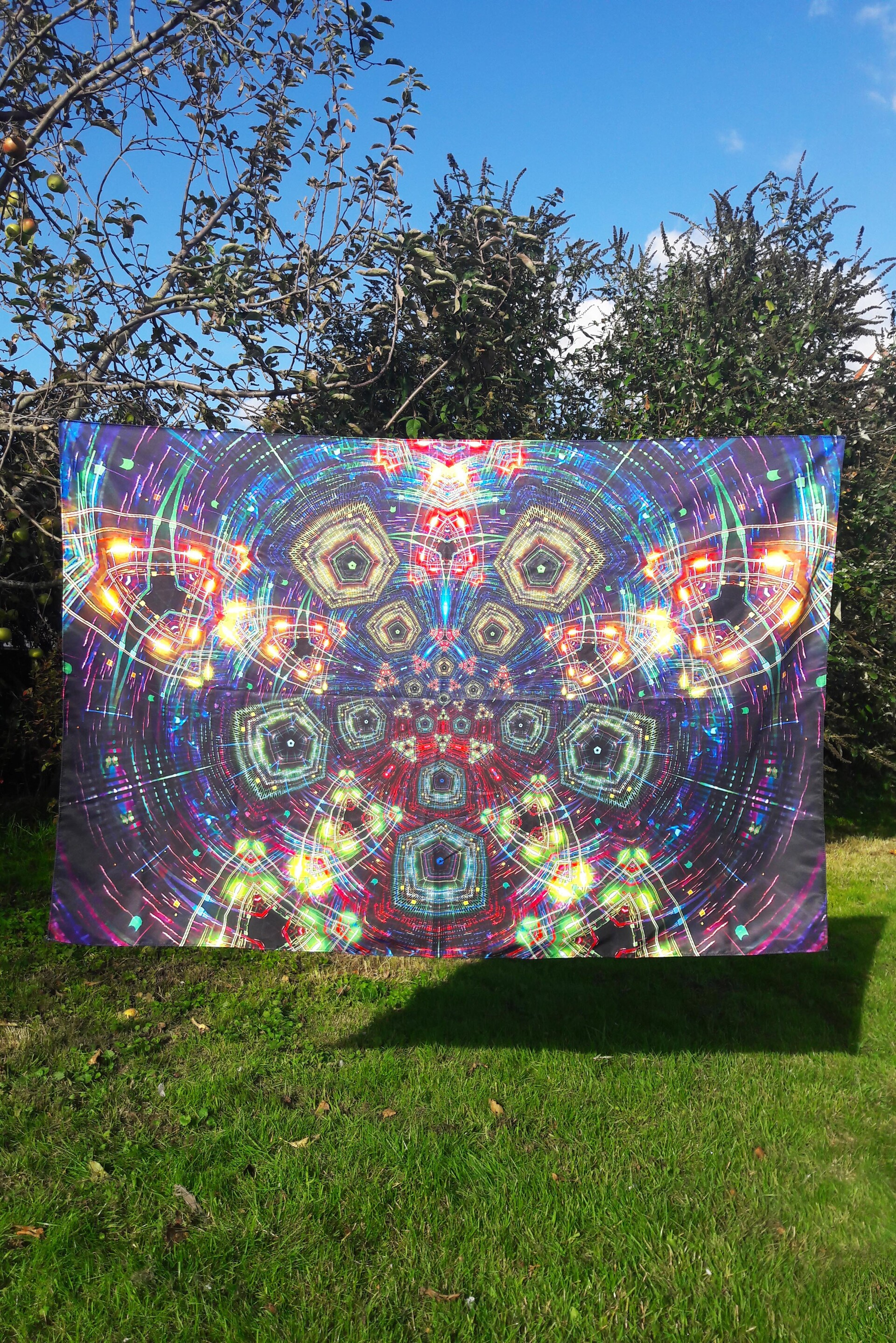 High Quality Tapestry Print  https://warp-store.myshopify.com/collections/tapestries/products/hi-tech-space-elf-tapestry
