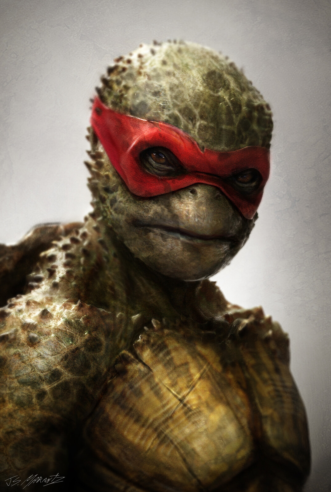 Teenage Mutant Ninja Turtles Rafael Concept Art