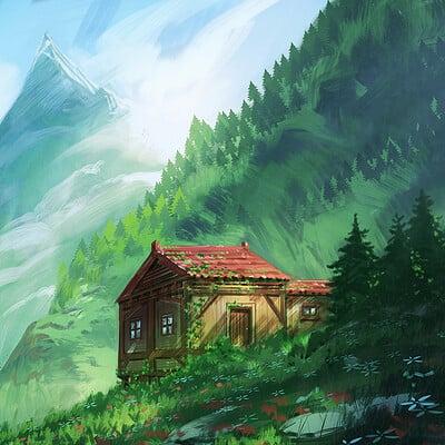 Jorge jacinto little house red
