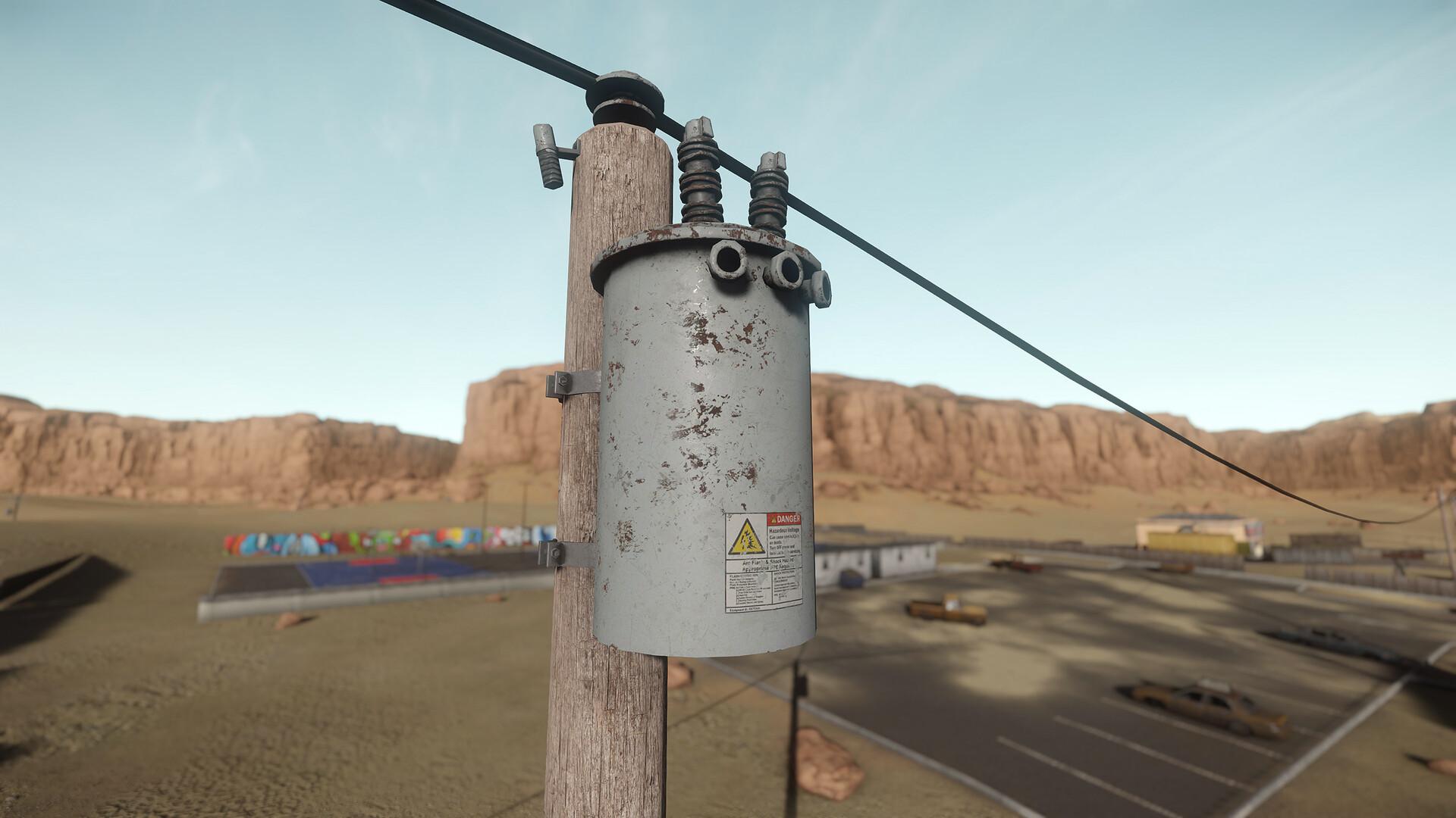 Carl kent utility pole 2
