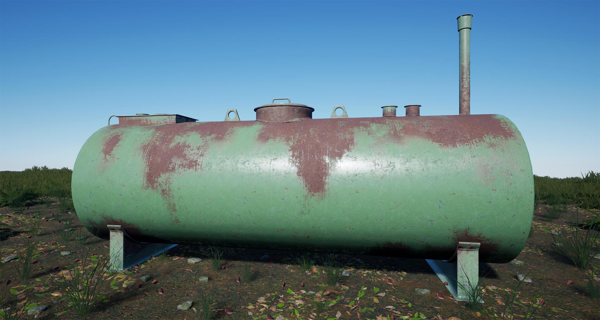 Carl kent gas tanker 3