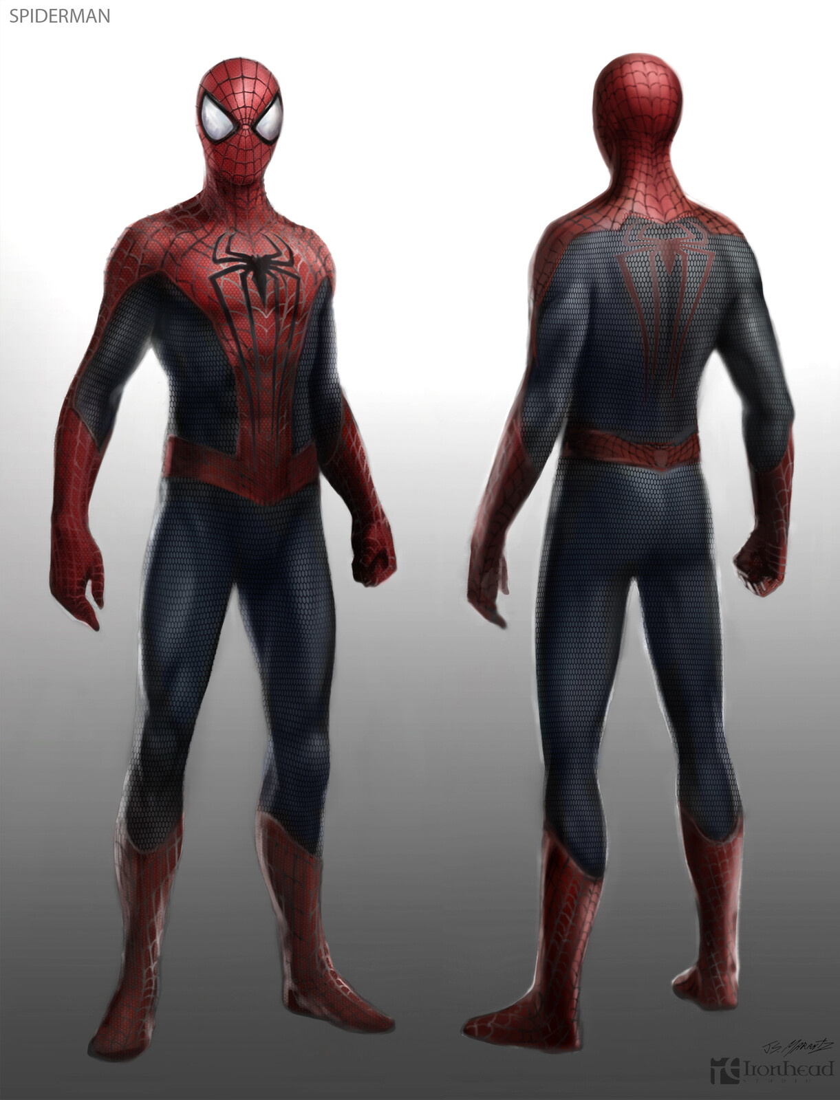 Amazing Spiderman 2 Spiderman Designs