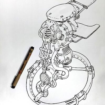 Ahmadreza khaksari dieselpunk 01