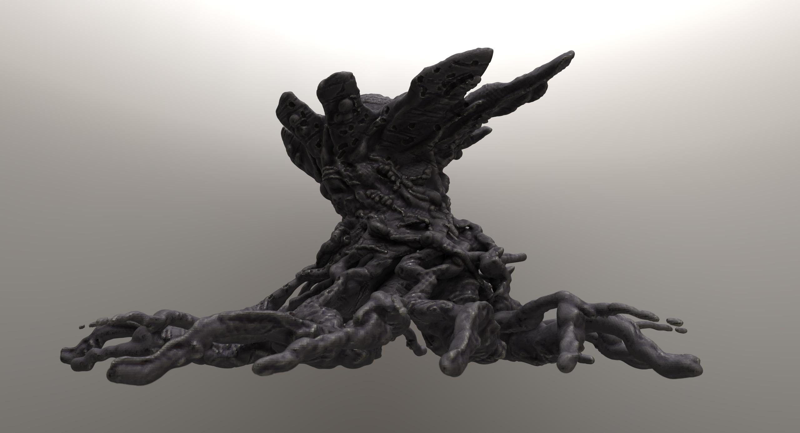 Model made in 3D coat