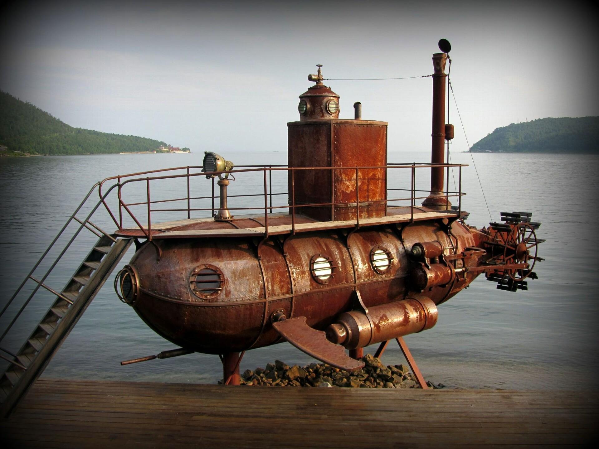 подводные деревянные лодки фото всем хочется