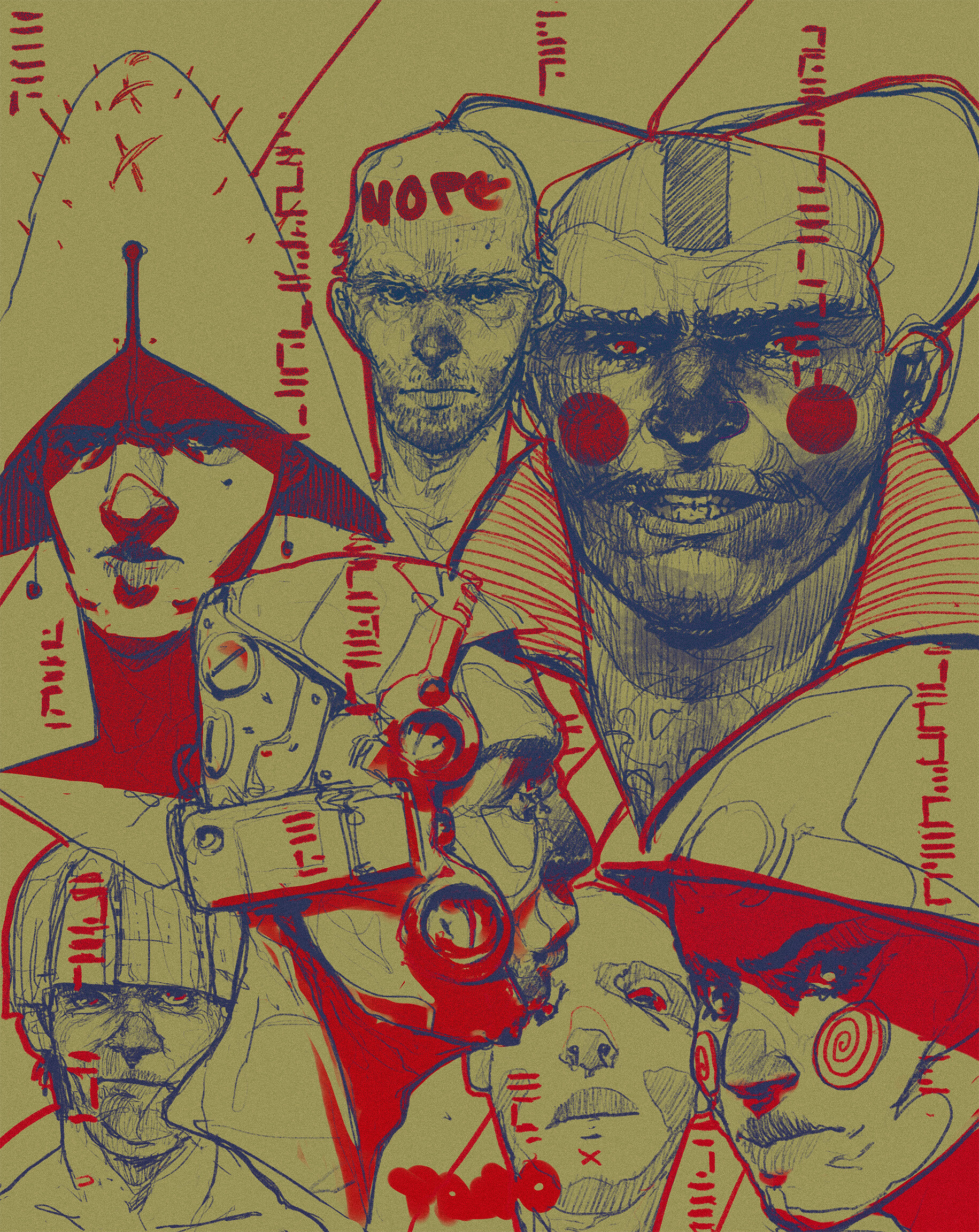 Tano bonfanti the red spots
