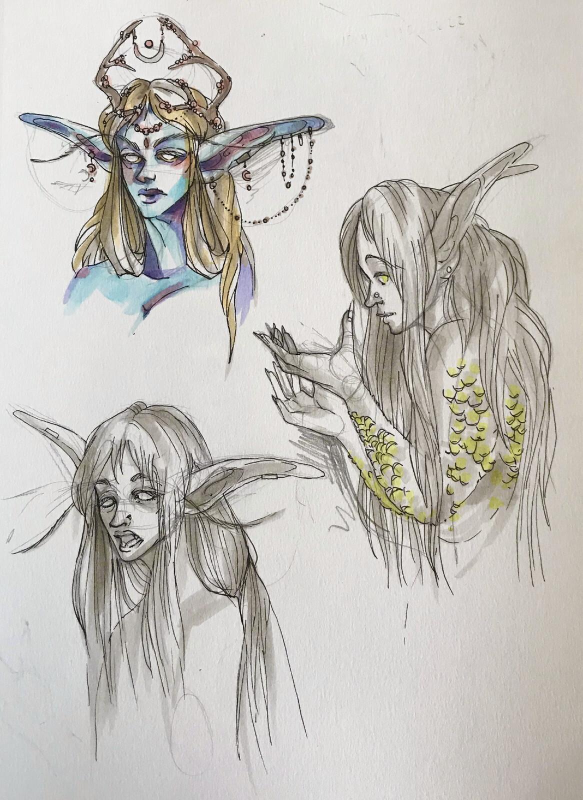 pretty elf fish girl :D!
