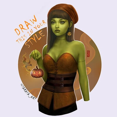 Lana paluhina helloween2