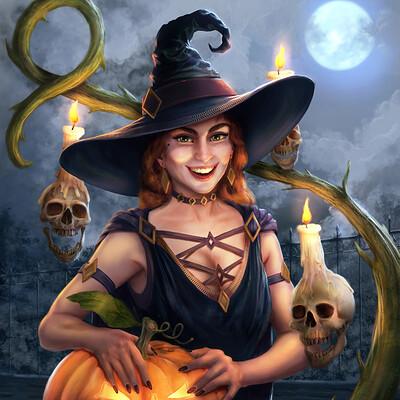Markus stadlober halloween witch insta