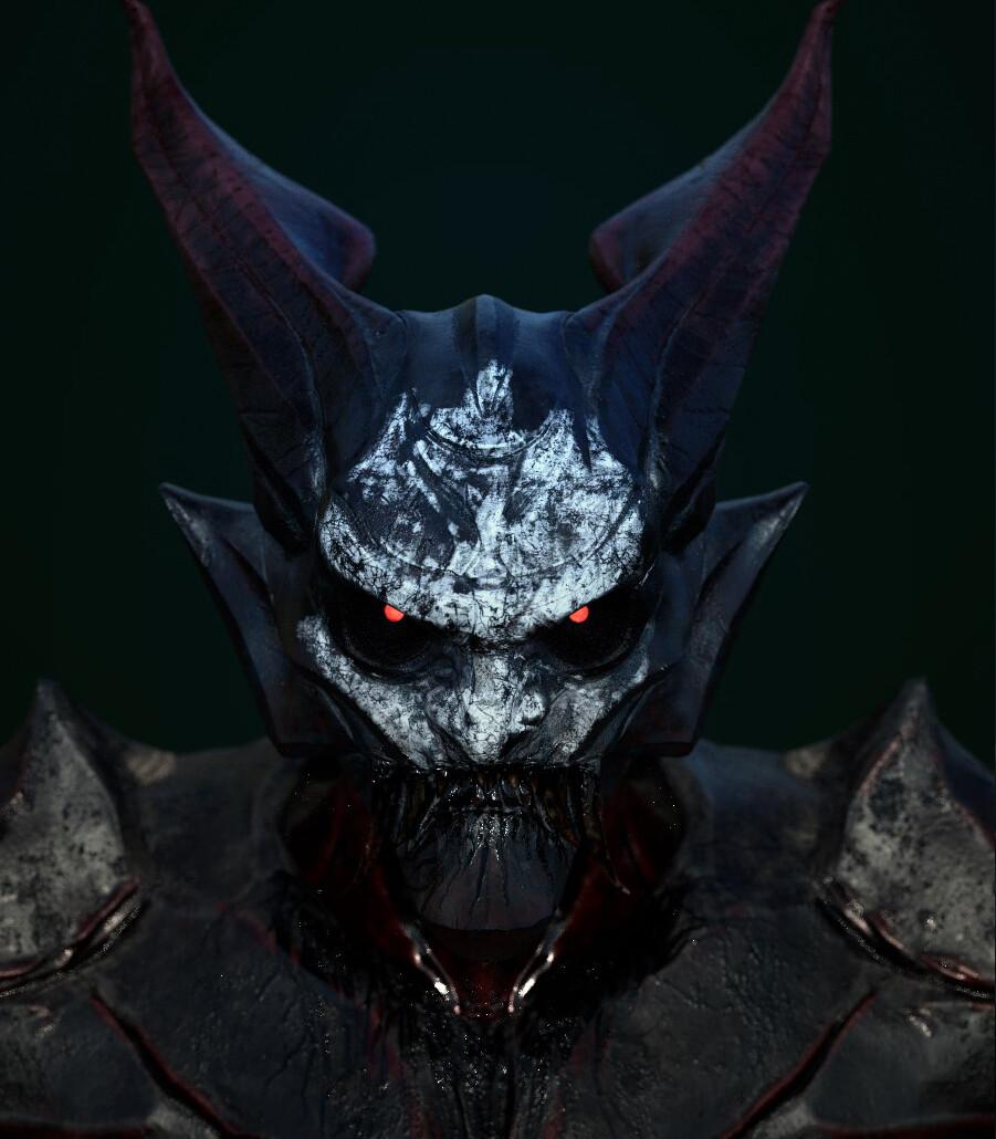 "Variation of the hero demon with ""WarPaint"""
