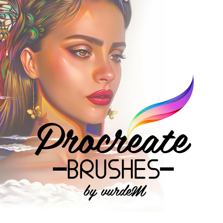 Artstation Marketplace Link: https://www.artstation.com/vurdem/store/LKl6/procreate-brushes-10-illustration