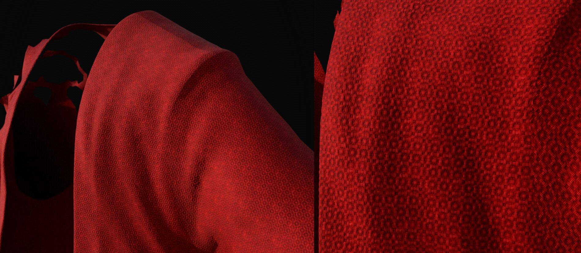 Substance Design + Painter for the Cloth/patterns.