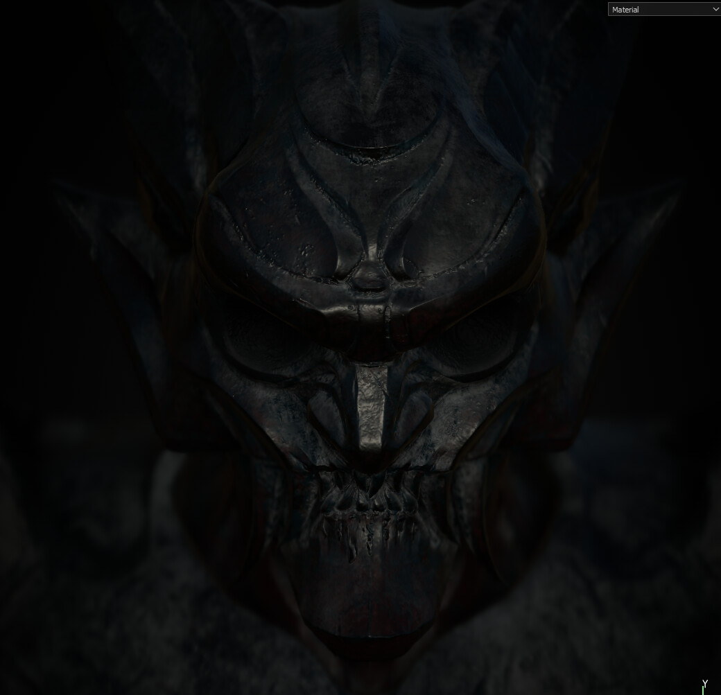 First pass of the Demon Textures