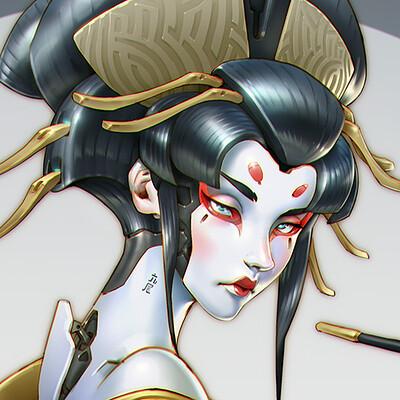 Ben zhang skin painter