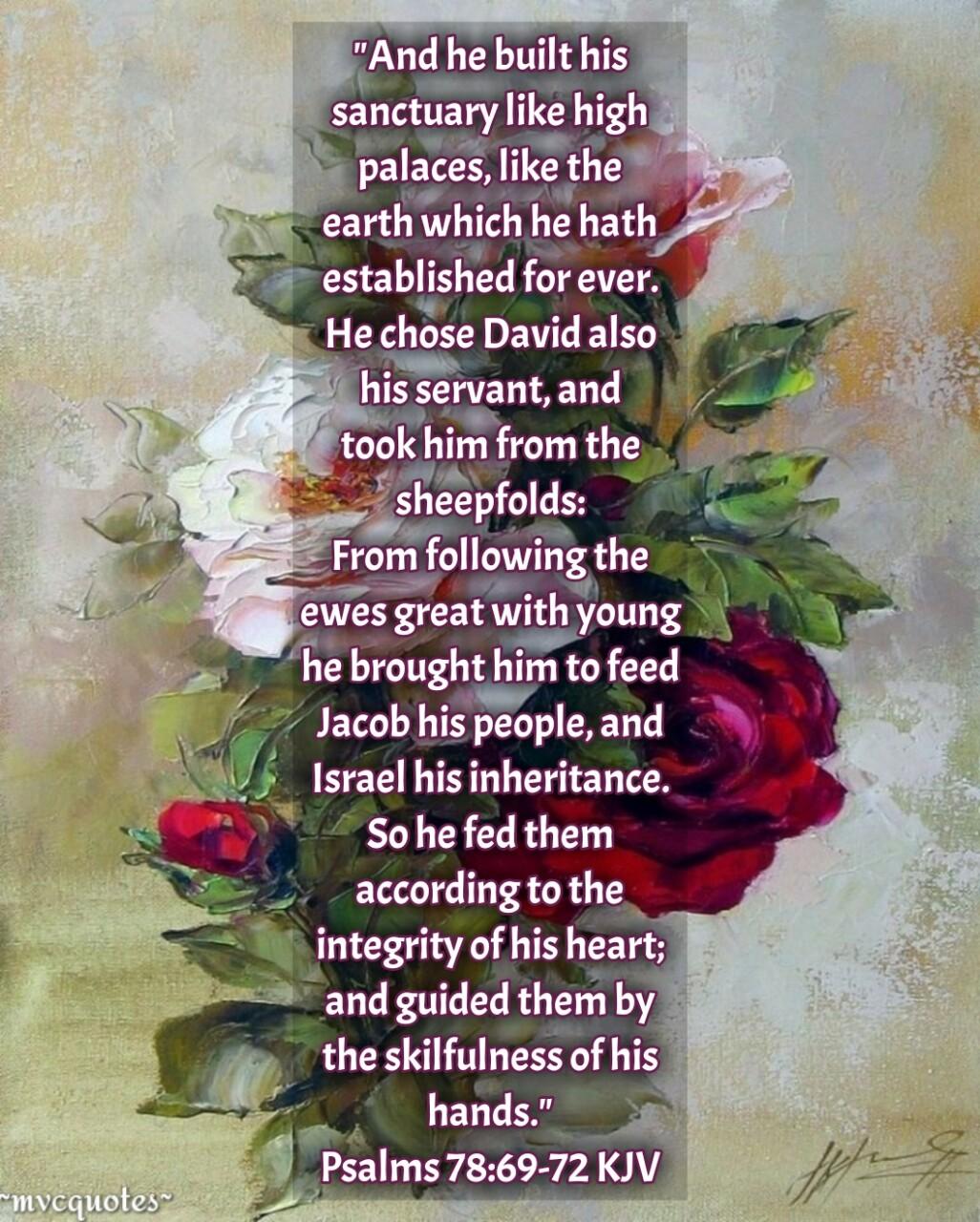 kjv bible quotes psalms