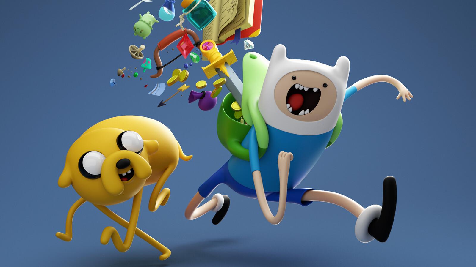 Adventure Time Finn & Jake